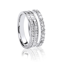 Diamond set Wedding and Eternity Rings