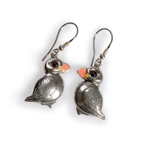 perfect puffin earrings