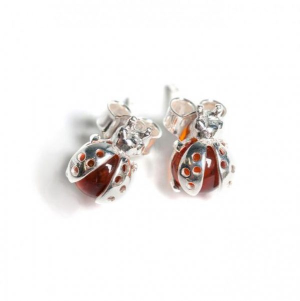 little ladybird earrings