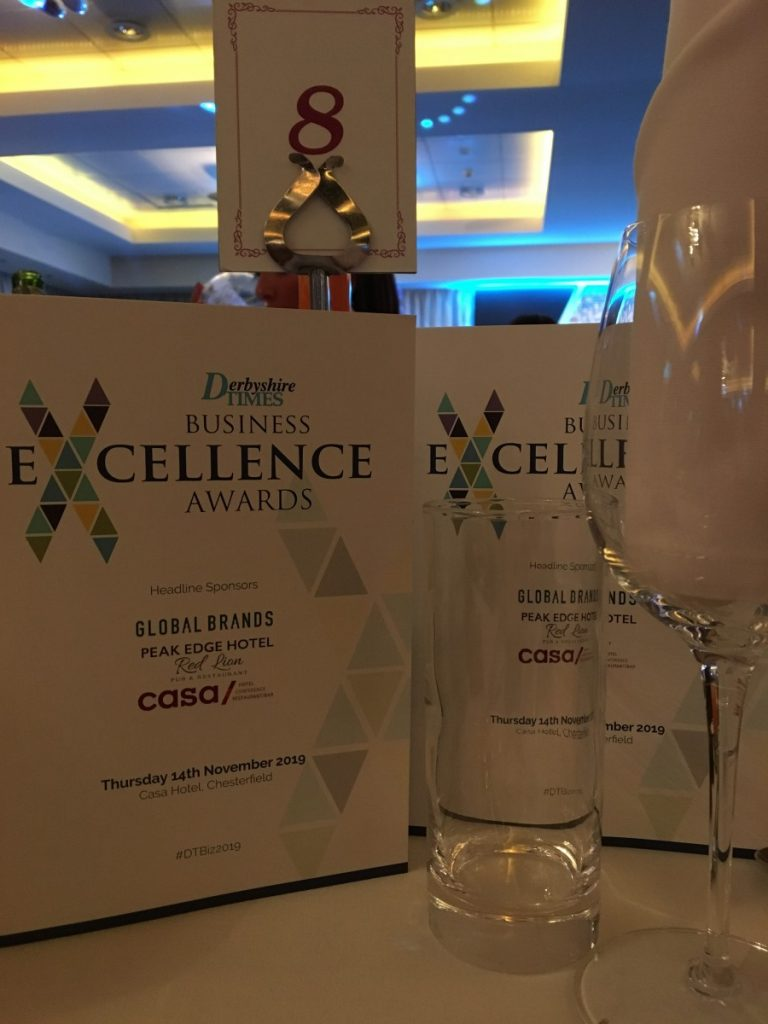 awards evening table