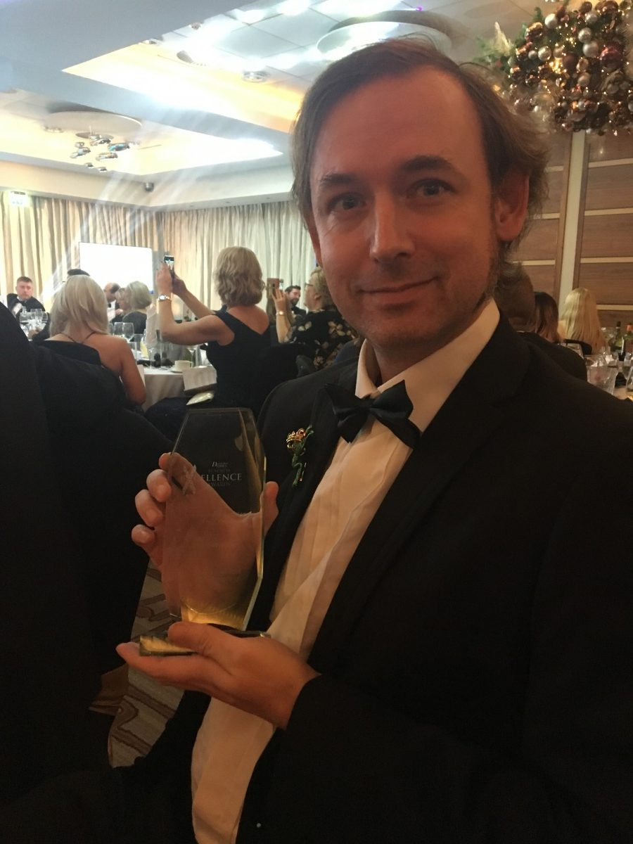 Adam with Independent Retailer of the Year