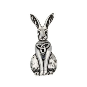 Celtic Hare Brooch