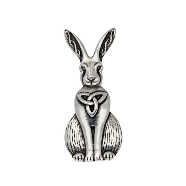 Celtic Hare Brooch
