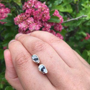 Blue John Peardrop Mini Earrings on LJ