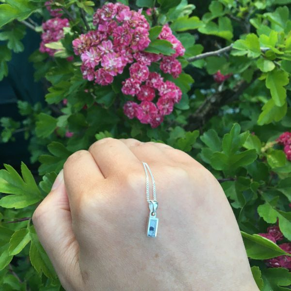 Blue John Mini Rectangle Pendant
