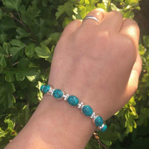 Turquoise Bracelet in sunshine
