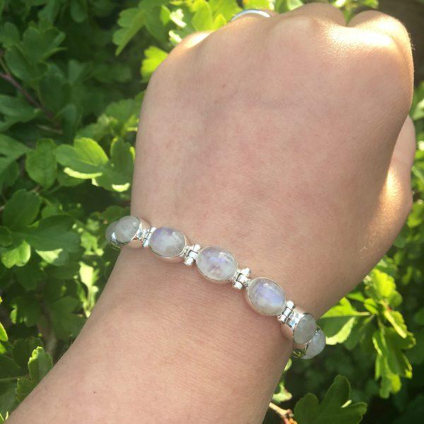 Moonstone Bracelet outside