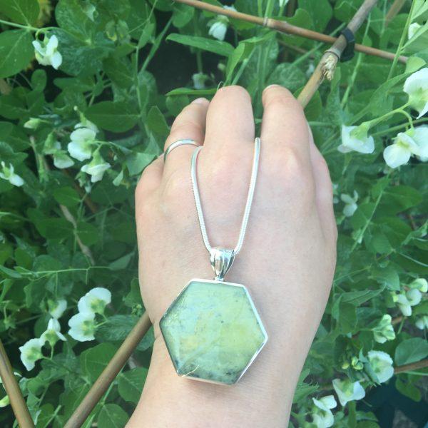 Connemara Marble Hexagonal Fob