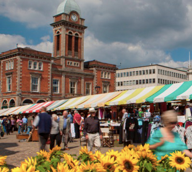 Chesterfield Market and Market Hall