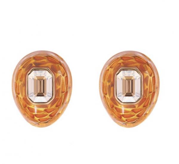 Mock Turtle Small Earrings in Gold