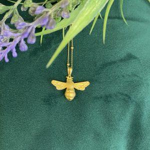 Golden Bee Pendant