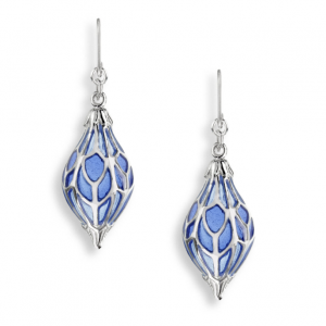 1920s style lantern drop earrings