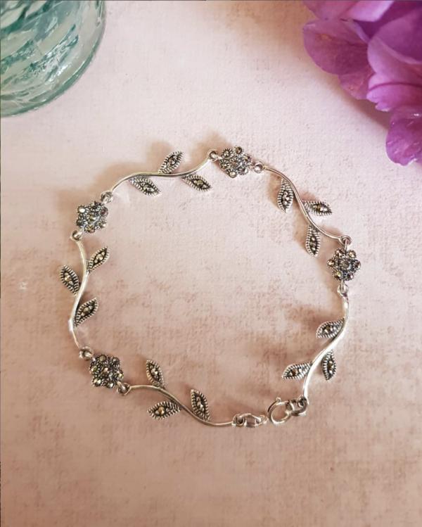 Marcasite Garland Bracelet