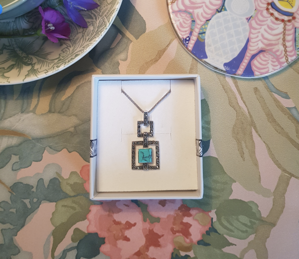 Deco Dream Turquoise Pendant