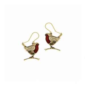 Robin Bronze Earrings