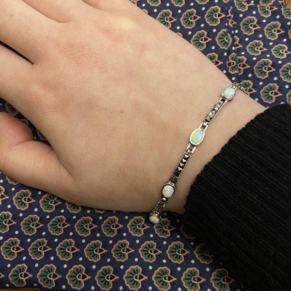opalite sparkle bracelet on LJ